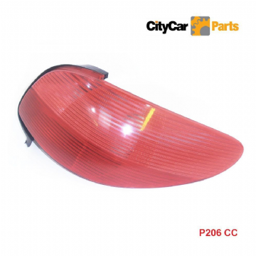 PEUGEOT 206CC CONVERTIBLE MODELS 1998 TO 06 DRIVER SIDE REAR CLUSTER LIGHT